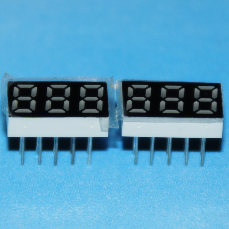 5pcs Led Display 0.25inch 3bit Digital 7 Segment Segmentos Led Red Display 7-segment Led Display Common Cathode Cube Board Sign Packing Of Nominated Brand Led Displays
