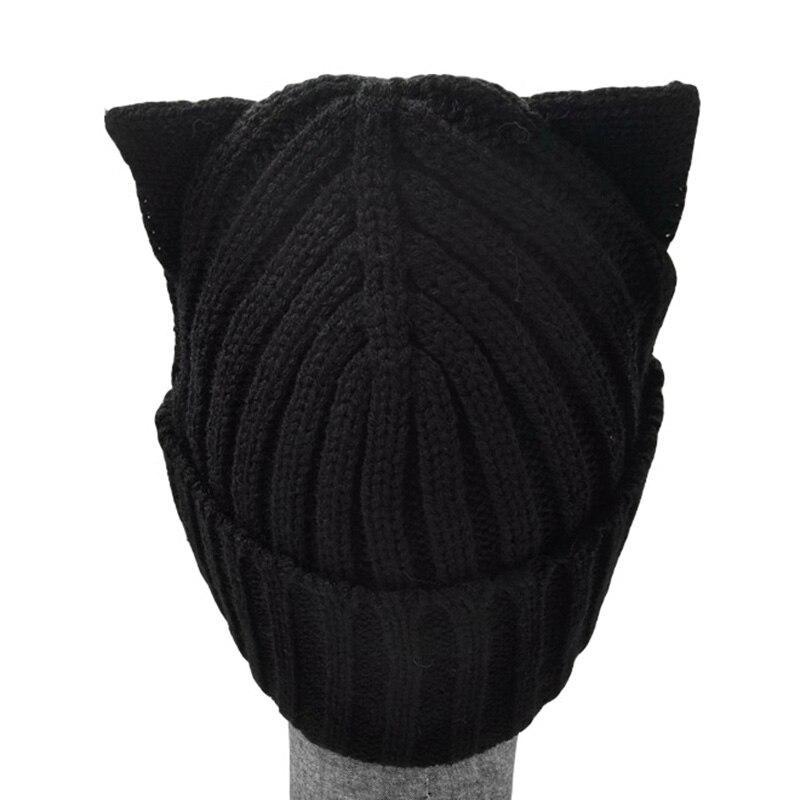 2016 amerikanische Modemarke Wolle Häkeln Beanie Strickmütze Hut - Bekleidungszubehör - Foto 2