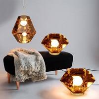 Tom Dixon Pendant Lights Figure living room pendant Pendant Lamp Metallic Hotel Hall Parlor Hanging LED Lamp light fixtures