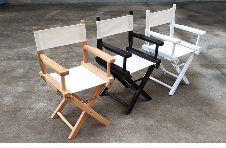 Kid Size Directors Foldable Chair In
