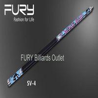 Fury SV II Series Pool Cue Model SV 04 Billiard Pool Street Painting Series Maple Wood