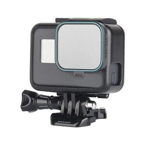 Image 3 - Set de filtro de lente ND para Gopro Hero 5 Hero 6 Hero 7, Set de 4 unidades, Protector de Cámara de Acción (ND 4 8 16) + Kit de filtro CPL para Gopro