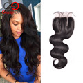 Gossip Girl Peruvian Closure Body Wave Lace Closure Human Hair Weave Free /Middle/Three Part Closure No Shed Free Shipping