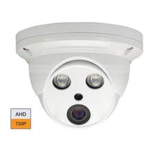 CCTV AHD 1.0MP 720P 2pcs Array IR HD Night Vision Security Camera