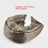 2019 T4 Turbo Charger Cover Turbo Blanket Heat Shield Cover High Quality Turbo Blanket Cover for T3 T4 T6