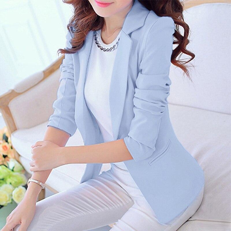 Весенний Женский блейзер с вырезами, черный белый офисный женский пиджак с длинным рукавом, блейзеры для женщин 2020, модная Рабочая куртка на...