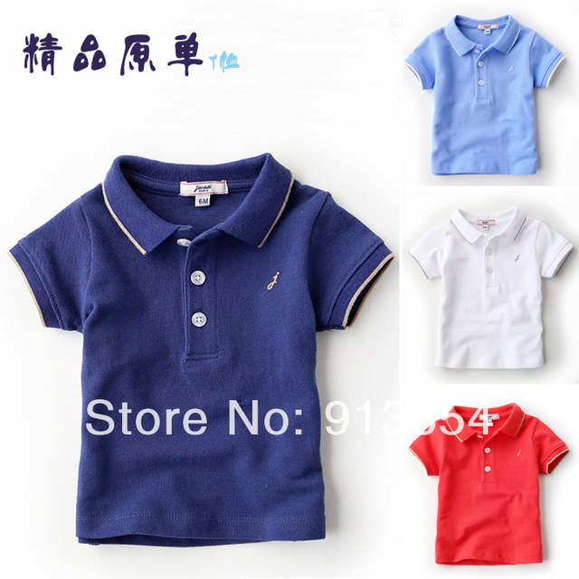 Лето дети футболки младенцы и дети одежда дети свободного покроя короткий рукав T рубашка мальчик спорт T - рубашки