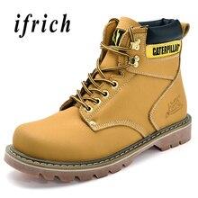 74858b5b De moda de los hombres zapatos casuales Zapatos negro amarillo marrón hombre  Botas de vestir Anti
