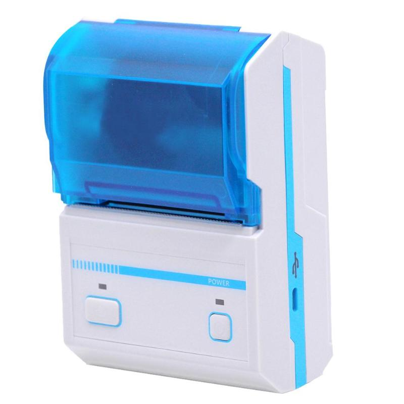 Mini Portable Handheld Bluetooth POS Receipt Thermal Printer Pressure-Sensitive Adhesive Printer for Android IOS Phone