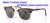 Rlei di moda dobrável óculos de sol das mulheres dos homens de alta qualidade viajar semi-quadro sem aro lente de vidro do vintage óculos de sol de dobramento
