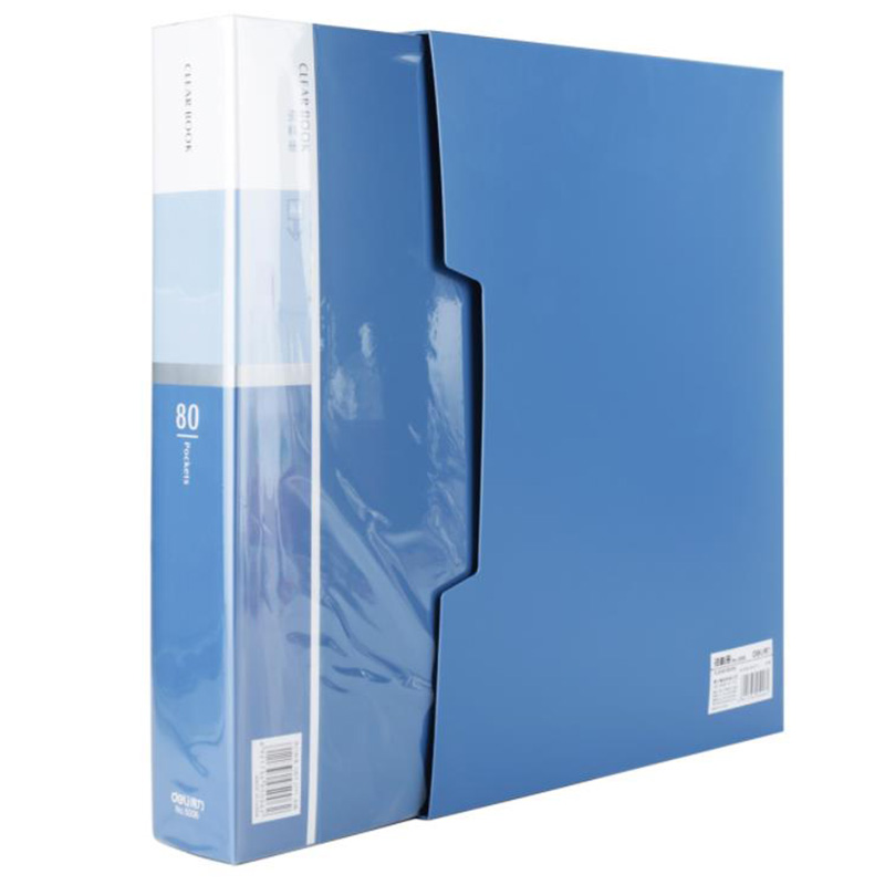 MyLifeUNIT 80 Pocket A4 Presentation Book 160 Page Capacity Business Presentation Folders With Sleeves For Office