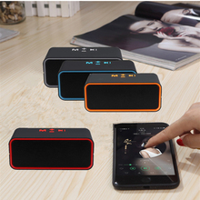 SAMTRONIC mini Portable Bluetooth Speaker HD Sound with FM HIFI Stereo Loudspeakers Super Bass Support TF/USB MP3 music Player