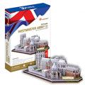 3D Puzzle DIY Educational Toys Westminster Abbey Model  Toys Educational Puzzle Toy for Gift