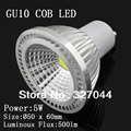 DHL FREE SHIPPING  5W cob led gu10 dimmable led spotlight lighting for home