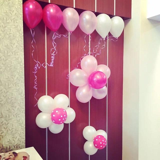 12 Inch 50 Pcs Pearl Thickening Balloons 2 8g Wedding Holiday Latex