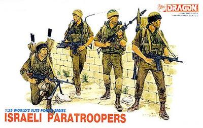 Dragão 1:35 3001 israelense pára-quedistas
