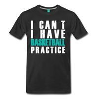 I Can T I Have Basketball Men S T Shirt 2017 Summer New Brand T Shirt