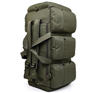 Image 3 - Sac à dos militaire tactique de grande capacité 90l, sac à dos de voyage pour hommes, camping randonnée étanche