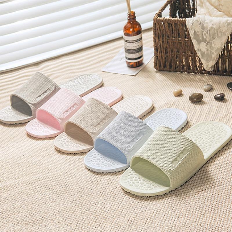 2019 New Ultra Light Soft Non-slip Slippers Women's Business Travel Hotel Portable Folding Bathroom Slippers Bath Slippers