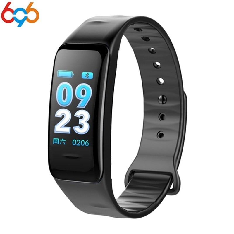 696 NEW Smart band C1S Smart bracelet blood pressure Heart rate pedometer Smart Wrsitband Fitness bracelet Watch PK F1 mi band 2
