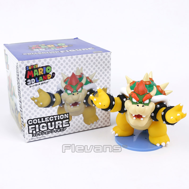 Super Mario Bros Boss Bowser Koopa Action Figure Toy Collection Kids Toys Christmas Birt ...