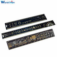 15cm 20cm 25cm Multifunctional PCB Ruler Measuring Tool Resistor Capacitor Chip IC SMD Package Units For Electronic Engineers