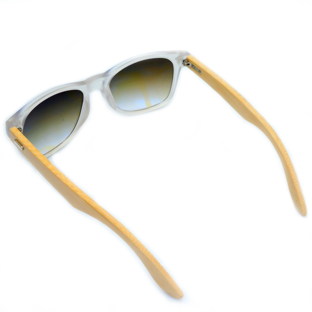 858710f2dc4 Bobobird Transparent Clear Color Wood Sunglasses With Wood Box UV 400  Protection
