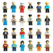DIY Совместимые строительные блоки Legoings фигурка миниатюрная профессиональная серия Звездные войны модели строительные наборы lote игрушка для детей