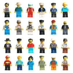 12/16 шт DIY Совместимость Legoings строительные блоки фигурки профессии серии Звездные войны модель строительные наборы игрушек для детей