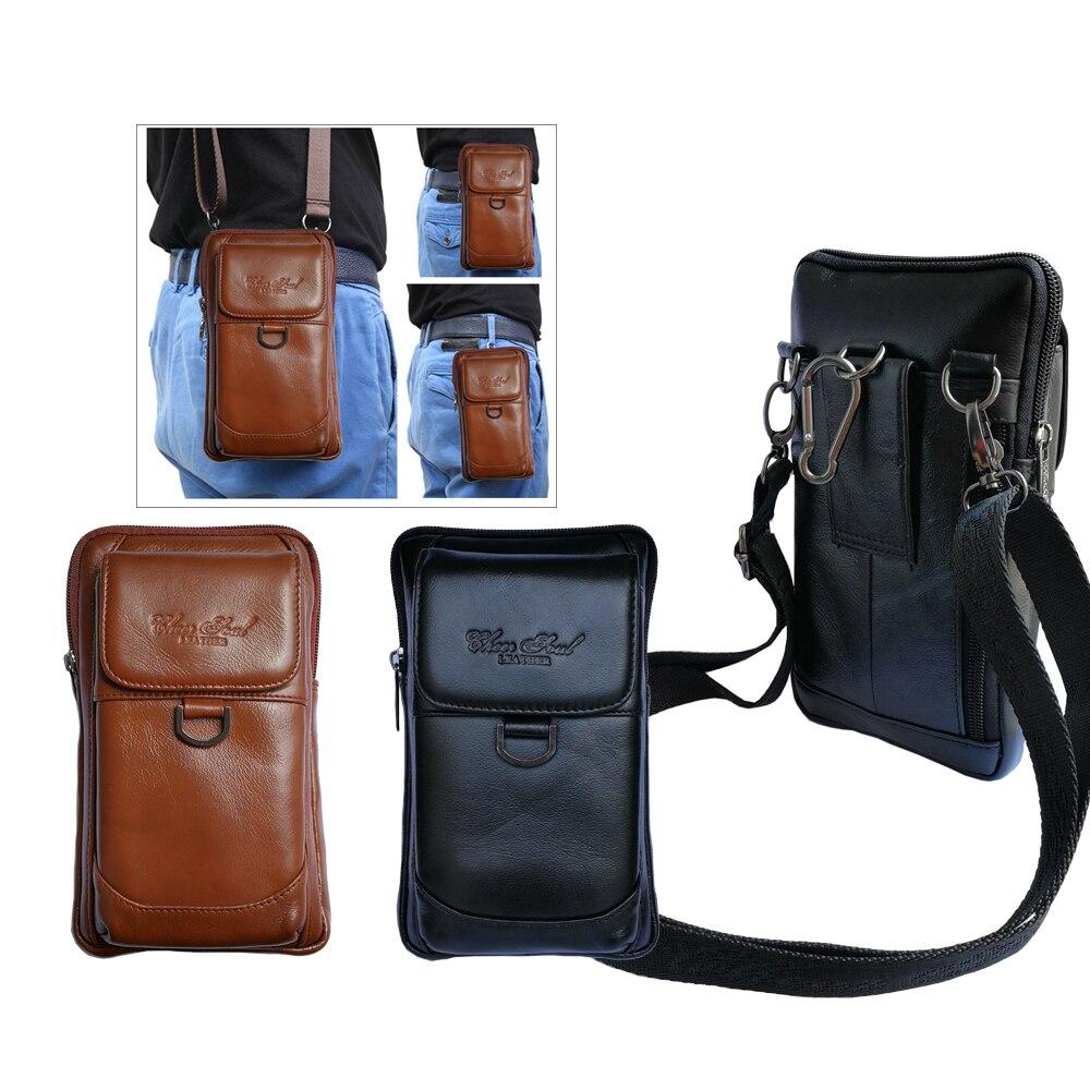 Чехол из натуральной кожи с зажимом для ремня, поясной кошелек, чехол для Xiaomi Mi Max 3, 6,9 дюйма, сумка для телефона DOOGEE S90 Oukitel WP500