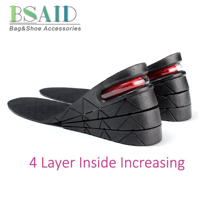 7eb60b9cdbd284 BSAID 4 Layers Height Increase Insoles
