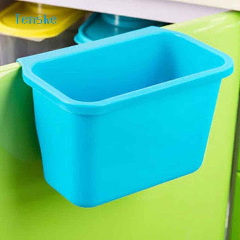 Us 246 36 Offtenske Keuken Trash Kast Deuren Opknoping Opslag Desktop Box Afvalbak Opgehangen Kast Caixa Voor Badkamer Keuken In Opruimdozen