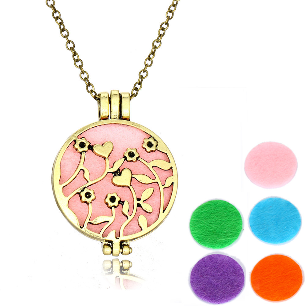 Foreign Trade Essential Oil Diffuser Aromatherapy Consistency Long Fund Sweater Chain Accessories In Stock DIO006 shouzh choker