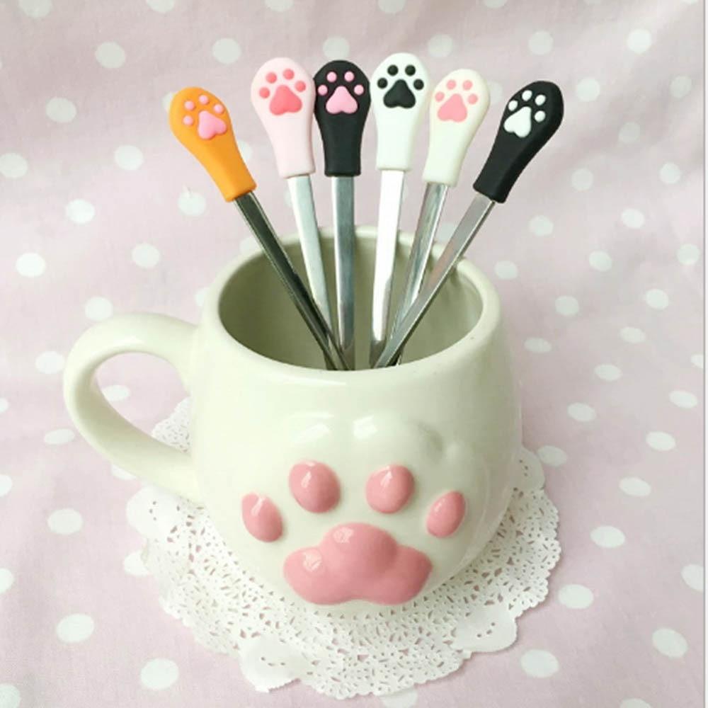 MNS_1-Pz-Acciaio-Inossidabile-Cute-Cat-Artiglio-Caffè-Cucchiai-Frutta-Forchetta-Dessert-Cucchiaio-Caramelle-Tè-Cucchiaio (2)