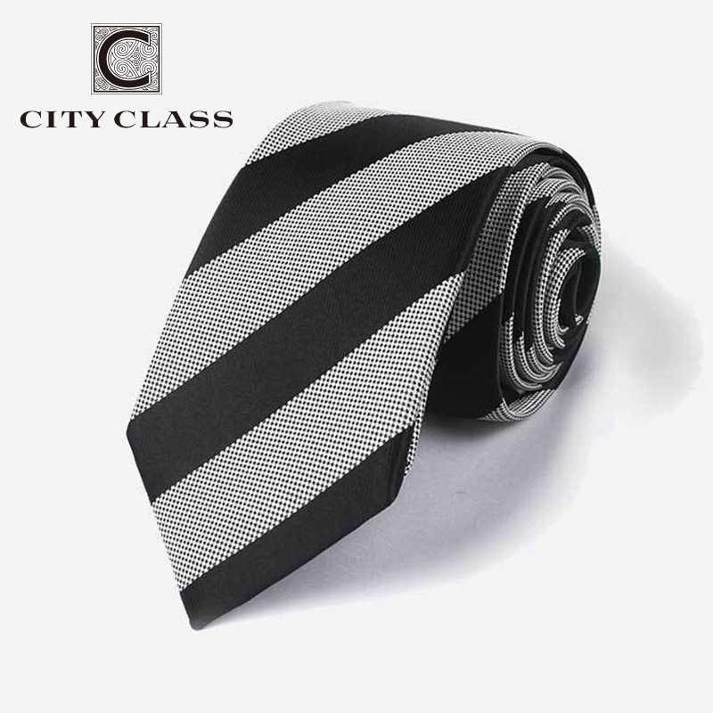 Şehir Sınıf 2019 Katı Dar Boyunbağı Erkekler Sıska Ince Kravat Düğün bağları erkek 7 cm genişlik corbatas t-700 yüksek Kaliteli