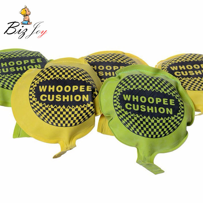 1pcs Tricky Jokes Gag Toy Whoopee Cushion Fun Fart Pad Squishy Cushion Pranks Maker Novelty Games Whoopee Cushion Gift Kids