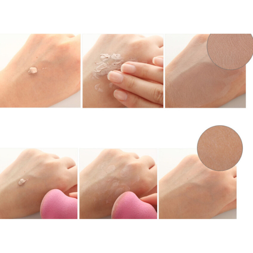 Jbs Mascara Waterproof Spon Make Up Beauty Blender Random New York Rak Spons Sponge Puff 3 Pcs 2 Big Size Women Makeup Flawless Foundation Girls Cosmetic Smooth