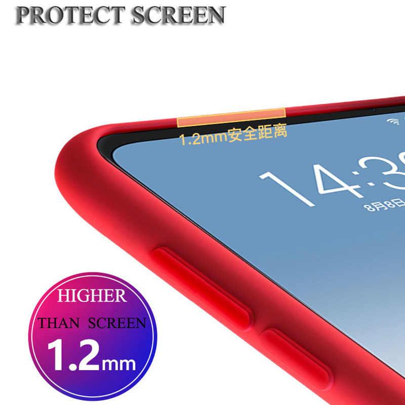 Meizu Note 9 cubierta suave funda de silicona líquida cubierta trasera Meizu Note 9 Note9 16s 16XS versión Global a prueba de golpes funda protectora