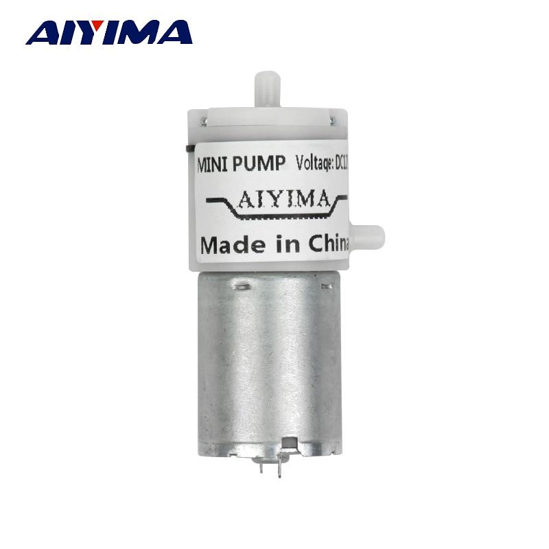 Heng Da Trading Com, LTD AIYIMA 1pcs DC 12V Micro Vacuum Pump Electric Pumps Mini Air Pump Pumping Booster For Medical Treatment Instrument