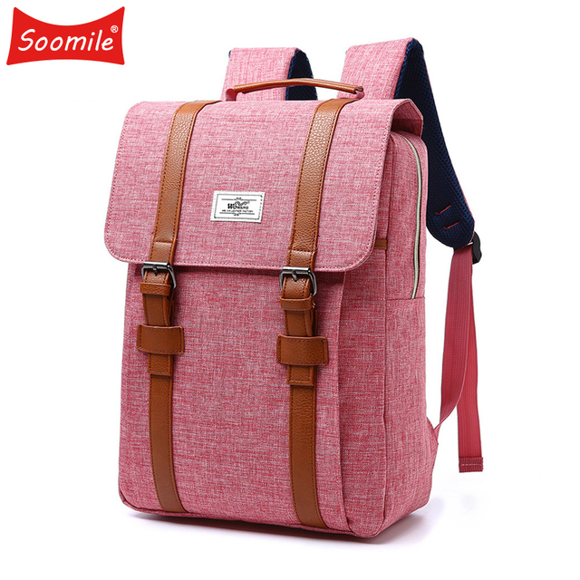 581745c41d18d0 Soomile Waterproof Nylon Laptop Backpack for Men Women College Dayback  Backpacks For 15In Notebook Large Capacity Anti Theft Bag
