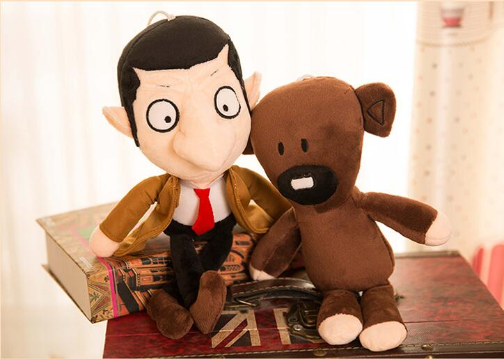 Mr Bean Soft Plush Doll 33CM Action Figure Kid TV Character Toy Halloween Gift
