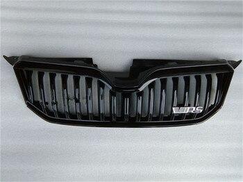 ABS оригинальные аутентичные автомобильный Передняя решетка Вокруг отделкой Гонки Грили Накладка для Skoda Yeti спортивные 2013 2014 2015 2016 автомобил...