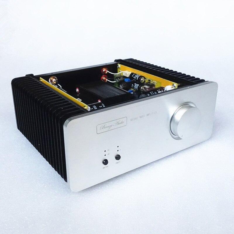 2017 Новый чистый класс A 1969 аудио усилитель мощности HiFi стерео 10 Вт микрофон усилитель