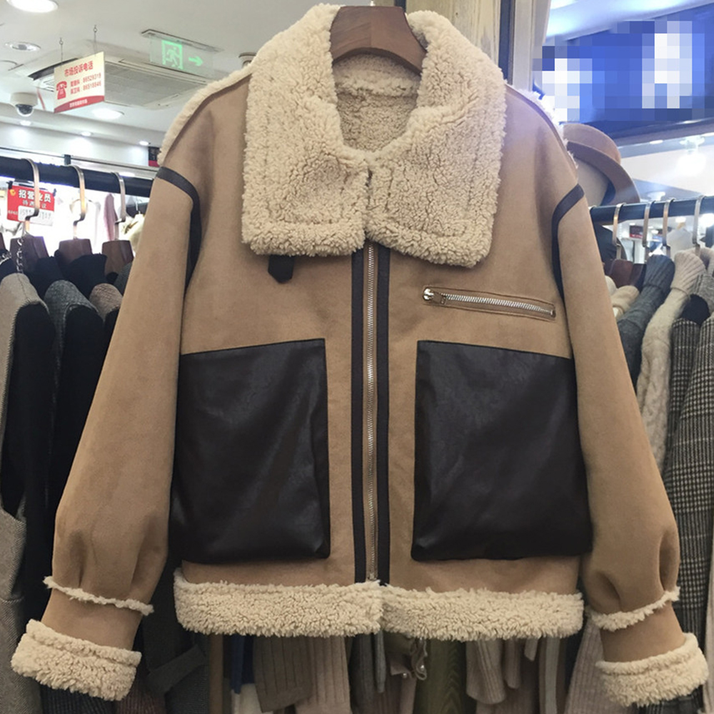As Manteau Picture Vestes Streetwear D'agneau Grande Hiver Femmes awqvqB