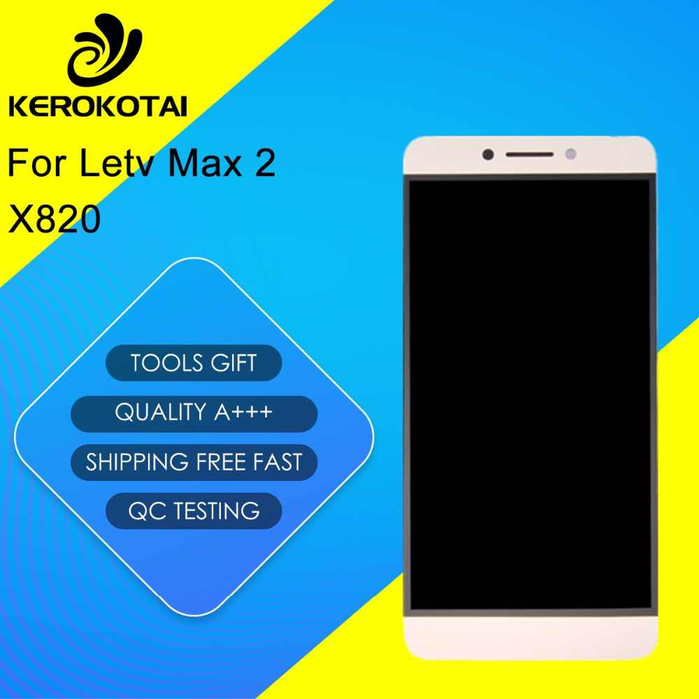 For Letv Max 2 X820 100% Tested Good Quality LCD Display Touch Screen Digitizer Full Assembly Letv Max 2 X820 LCD Assembly