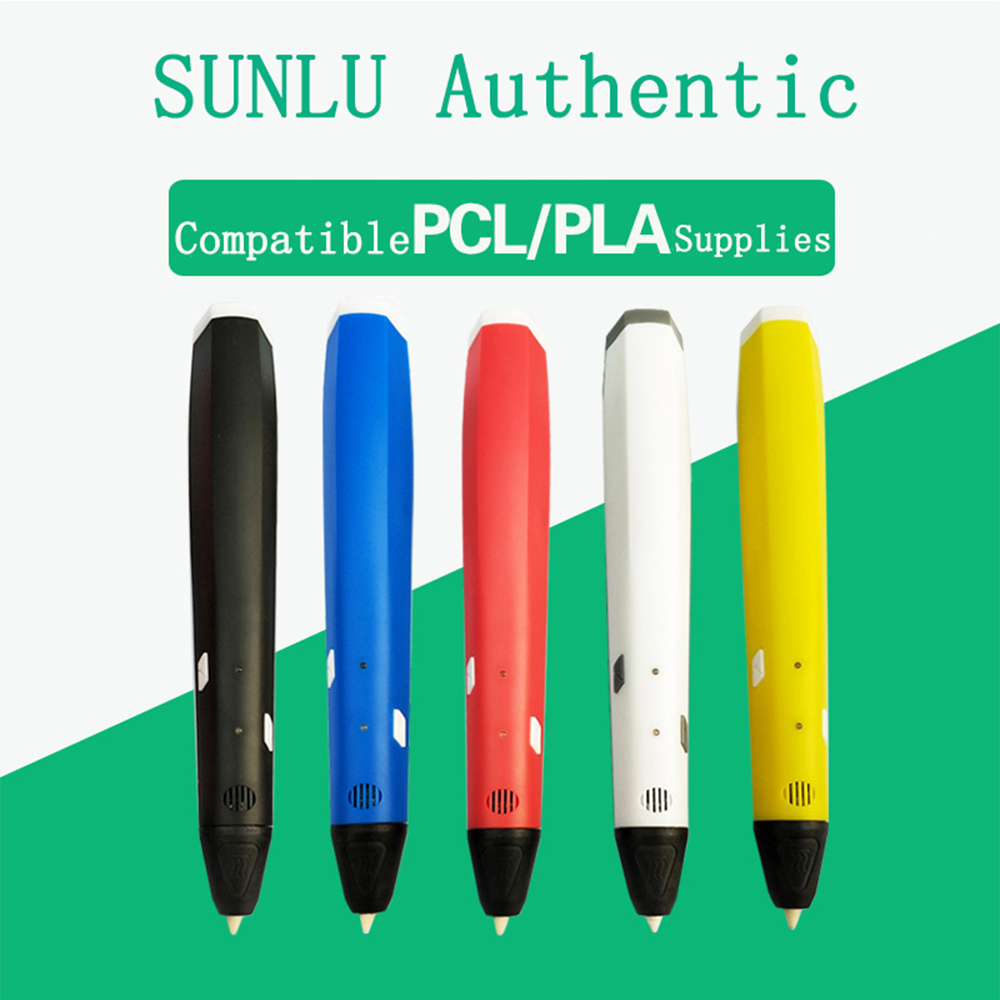 New 3D pens High quality 7nd Generation Superior DIY 3D Printer Pen With 20 Color PLA/PCL Arts 3d pens For Kids Drawing Tools perfect chrismas gift 3d pen for drawing led display diy 3d printer pen creating and safe voltage for kids high quality