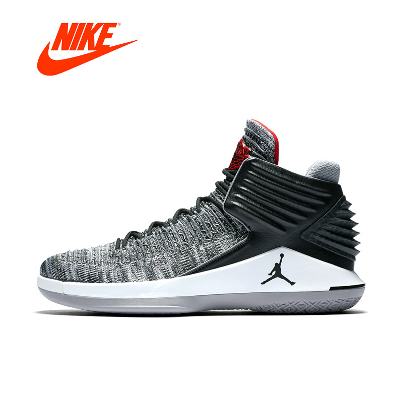 Original New Arrival Authentic Air Jordan JORDAN XXXII PF Mens Basketball Shoes Sneakers Comfortable Breathable AJ спортивная футболка air jordan jordan in the air gs aj