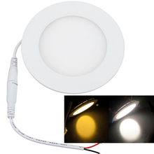 12V Bus lamp LED Panel light Solar Power input 12V led downlight Dimming 3W 6W Ship light for 6000K white and 3000K warm white