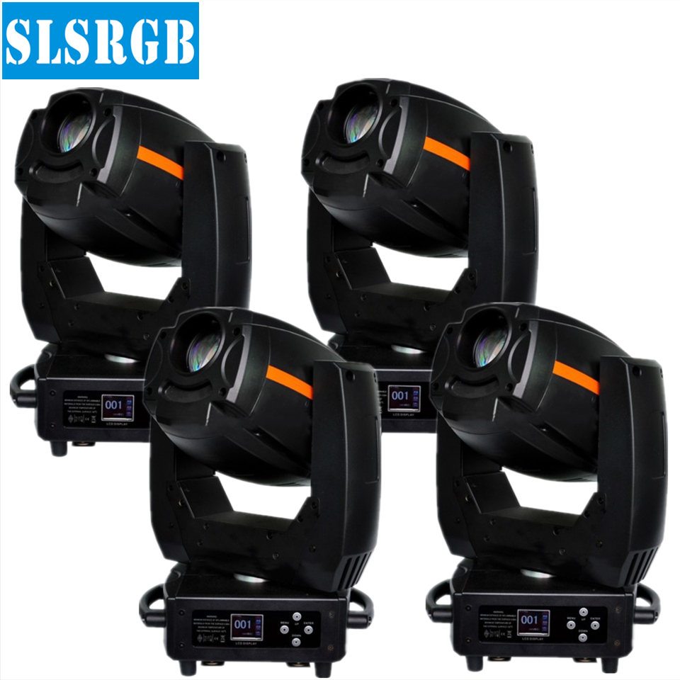 4pcs/lot 300W spot moving head with gobo wheel led spot stage dj light DMX Gobo Projector 300W Moving Head lyre spot led free punch wooden pu leather special car armrest box with 4 usb hole for peugeot301 citroen elysee smultifunctional car hand box