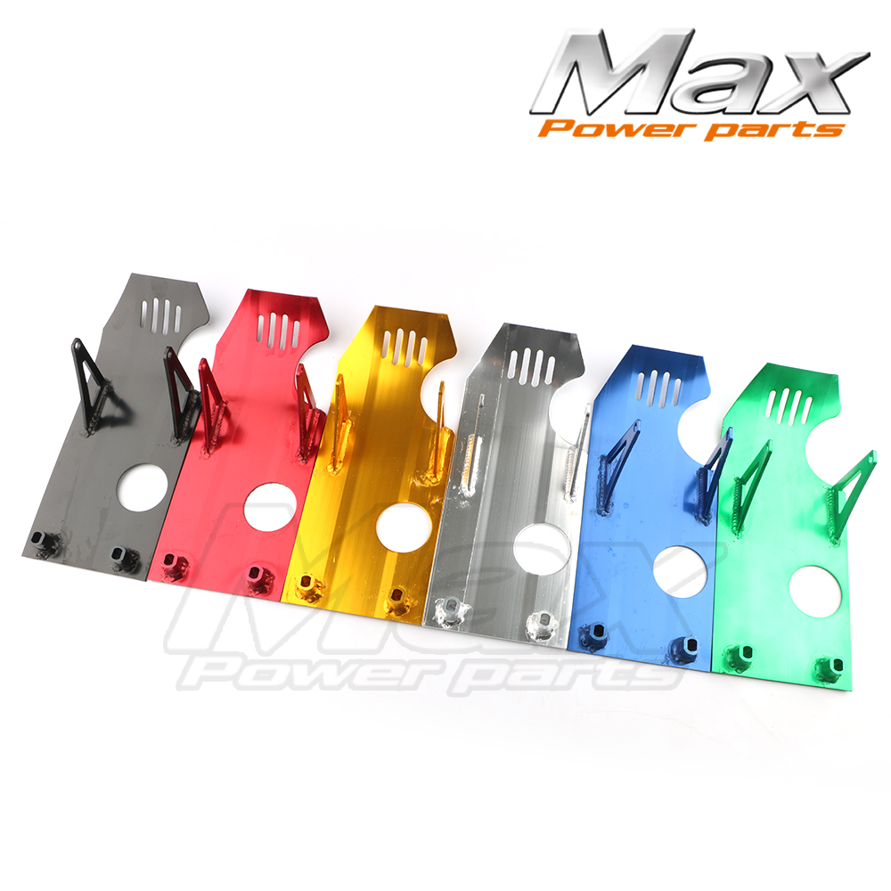 Aluminum Skid Plate Engine Case Protector XR50 CRF50 Z50 Tao Tao Bosuer KAYO Xmoto  Apollo 70 90 110CC Pit Dirt Bike TTR crf 70 plastic covers fairing kits crf70 dirt pit bike procket bike xmotos baja dr50 49 50cc 70 90 110 kayo hk 160